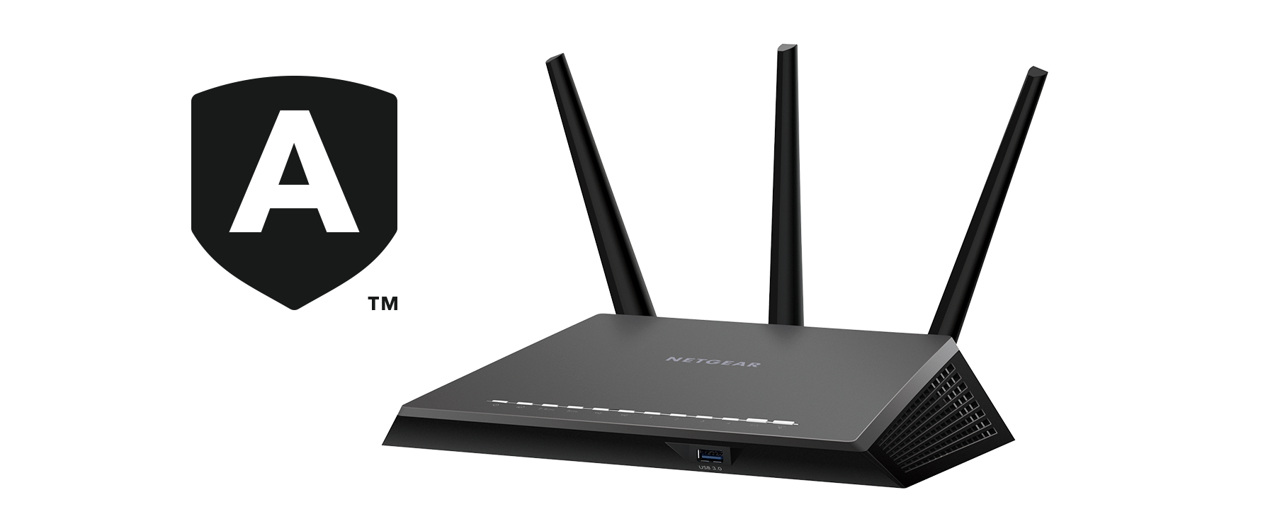 Nighthawk Smart WLAN-Router mit Netgear Armor