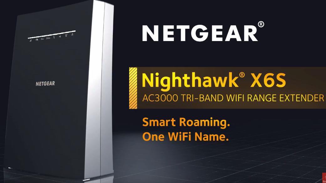 NETGEAR Nighthawk X6S AC3000 MU-MIMO Smart Wi-Fi Router