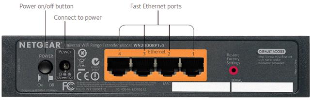 Wn2000rpt Wlan Repeater Netzwerke Produkte