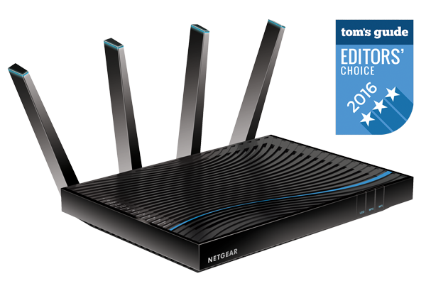 NETGEAR Nighthawk X8 Tri-Band WiFi Router AC5300 (R8500)