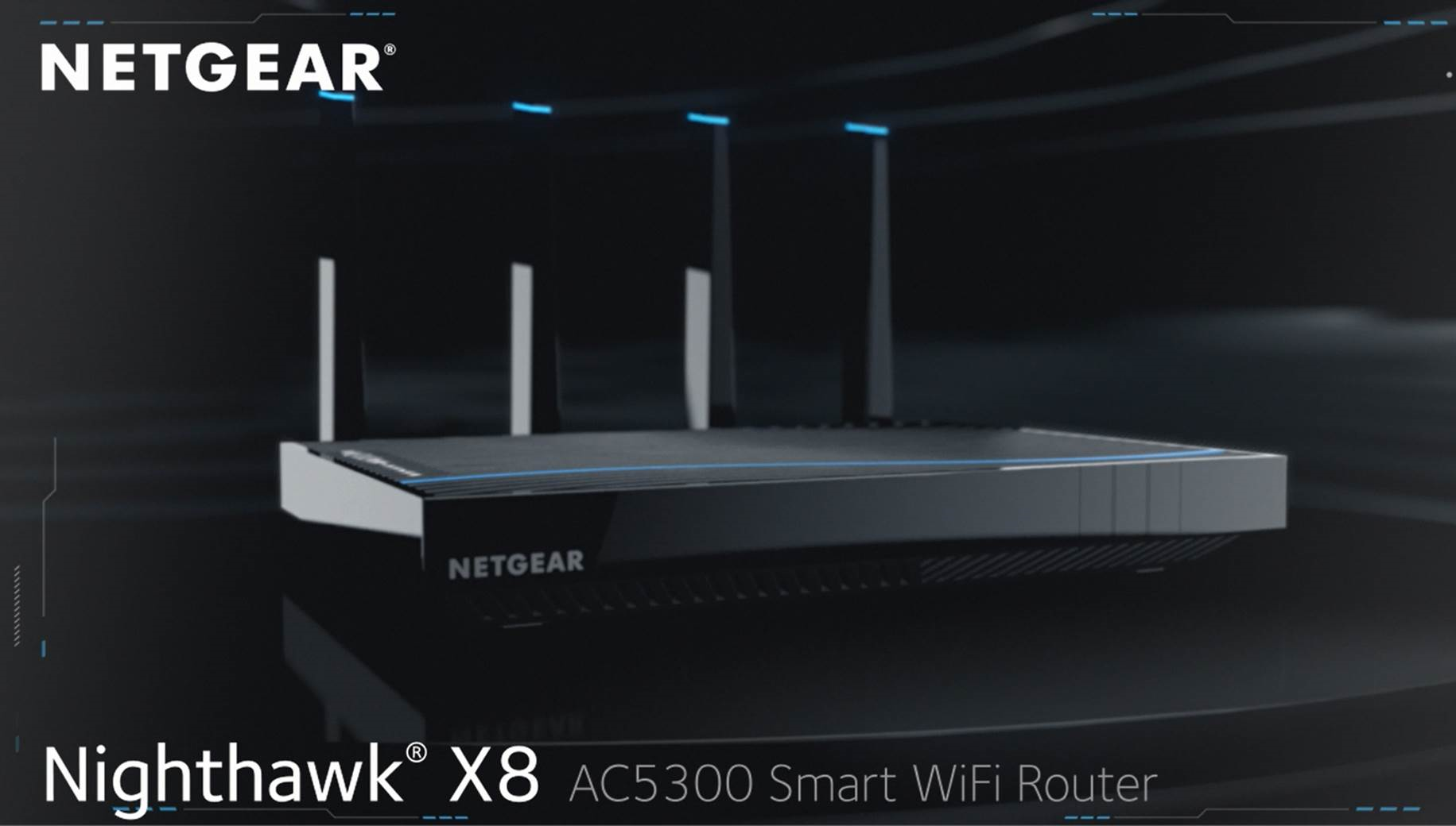 Nighthawk™ X8 – AC5300 Smart WLAN Router