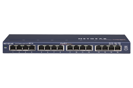 Gigabit Unmanaged Switch Serie Gs116 Unmanaged